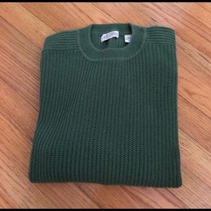 Olive Green Men's Sweater